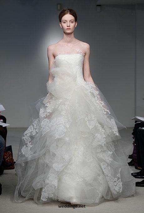 Wedding for Vera wang princess wedding dress